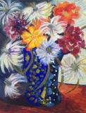 "Venetian glass. Acrylic on canvas 8""x10"". Sold"